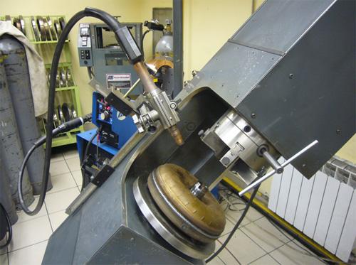 Автоматизированный станок для сварки корпуса гидротрансформатора